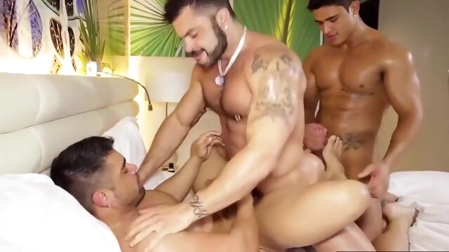 Latino Power Fuck gay porno big cock  blowjob bondage