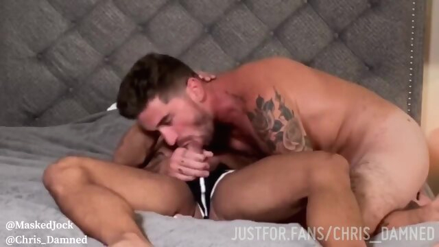 I'll Be Damned! gay porno gay anal  buttfuck duo
